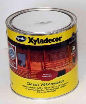 Xyladekor classic vékonylazúr oldószeres (2.5 l)