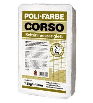 Poli-Farbe Meszes glett (20 kg)