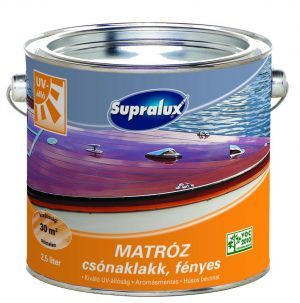 Supralux Matróz UV álló csónaklakk (2.5 l)