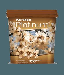 Poli-Farbe Platinum színes beltéri falfesték (2.5 l)