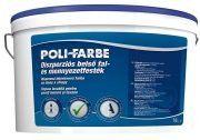 Poli-Farbe diszperziós fal-és mennyezeti beltéri fehér falfesték (14 l)