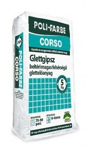 Poli- Farbe Corso 0-6mm beltéri glettgipsz (5 kg)
