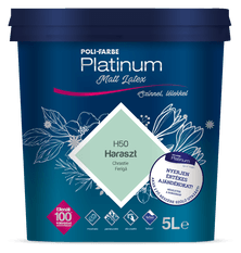 Poli-Farbe Platinum matt latex (2.5L)