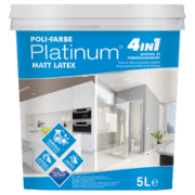 Poli-Farbe Platinum matt latex (5 l)