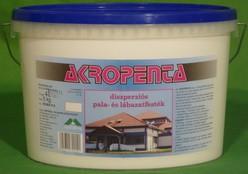 Akropenta diszperziós lábazat-,betoncserép- és palafesték (4 l)