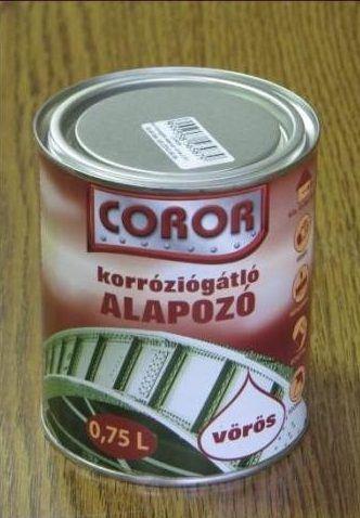 Coror rapid korróziógátló alapozó fémre