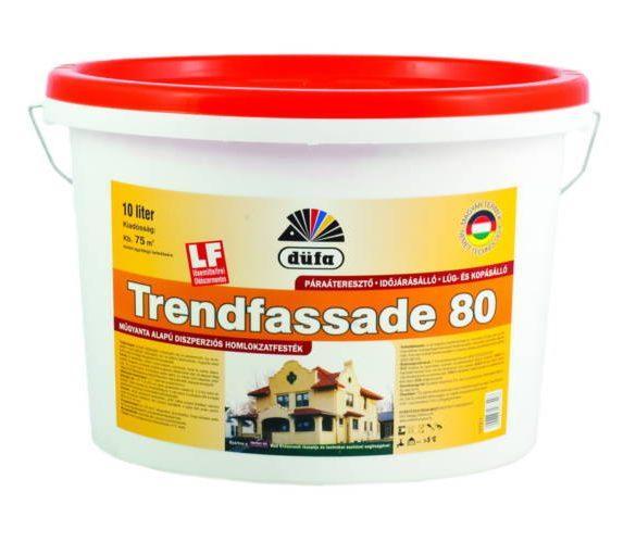 Düfa homlokzati fehér falfesték kültéri TD80 műgyanta alapú