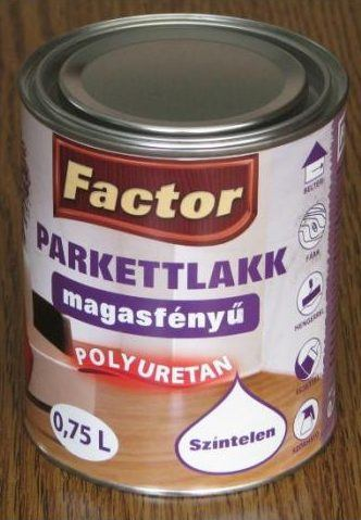 Factor parketta lakk aqua magasfényű