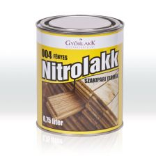 Győrlakk nitro lakk 004 fényes (0.75 l)