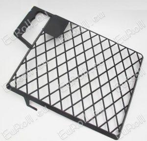 Lehúzórács műanyag, fekete 31×26 cm