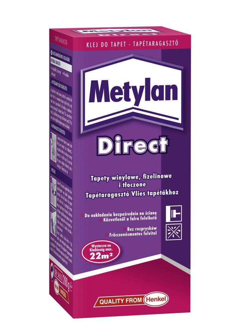 Metylan Direct víztapétához tapétaragasztó 2x22 m2 (0.4 kg)