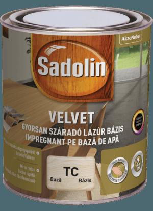 Sadolin Velvet vízes lazúr bázis (0.75 l)