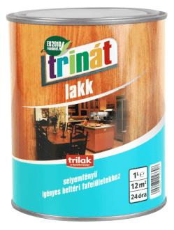 Trinát beltéri selyemfényű lakk (1 l)