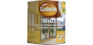 Sadolin extra vastaglazúr oldószeres (2.5 l)
