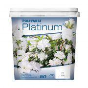 Poli-farbe Platinum belső falfesték fehér (2.5 l)