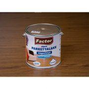 Factor parketta lakk aqua magasfényű (2.5 l)