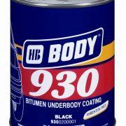 Body bitumen alapú fekete alvázvédő (1 l)