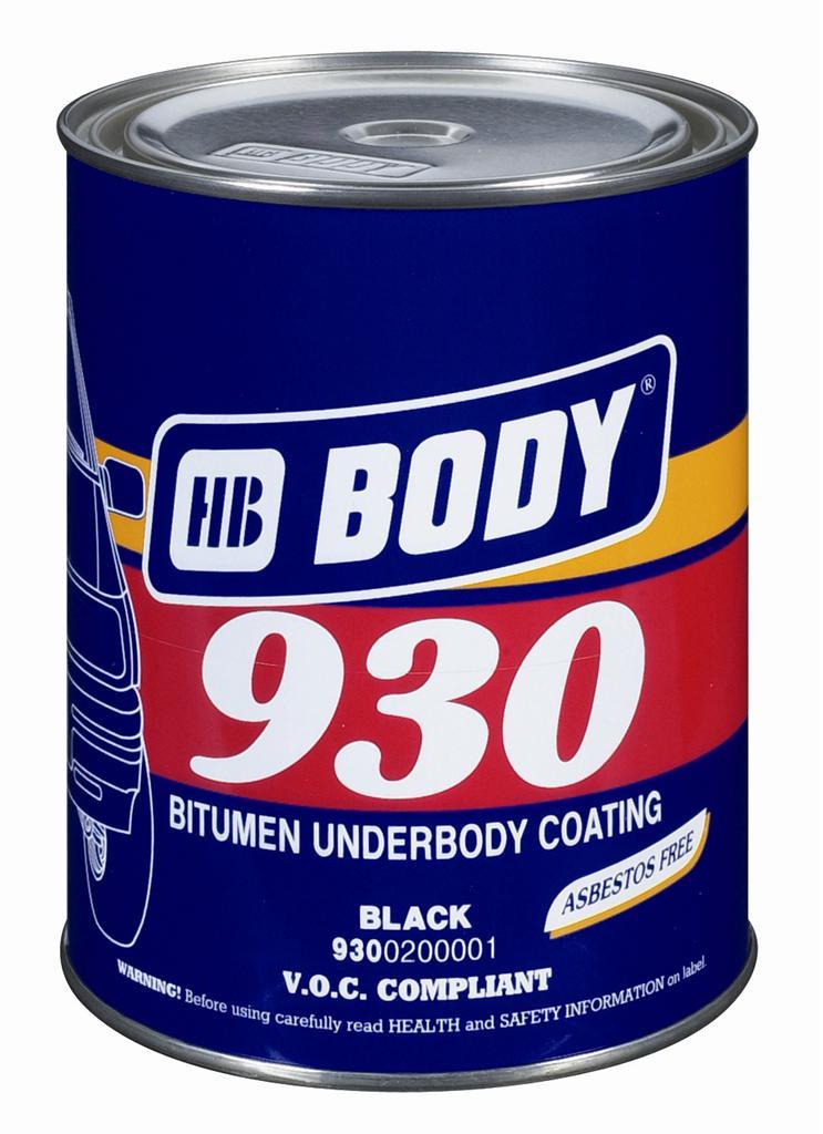 Body bitumen alapú fekete alvázvédő