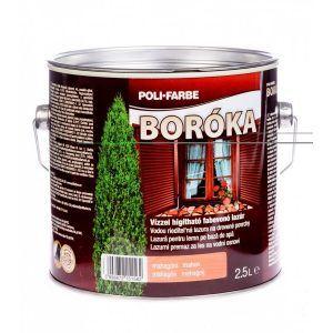 Poli-Farbe Boróka fabevonó vastaglazúr vizes (2.5 l)