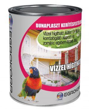 Dunaplaszt kerítésfesték aqua (0.75 l)