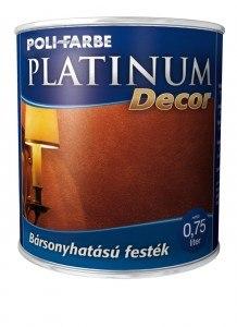 Platinum Decor Bársonyhatású festék (0.75 l)