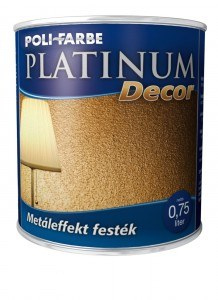 Platinum Decor Metáleffekt festék (0.75 l)