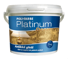 Poli-Farbe Platinum Decor Antikkő Glett (5 kg)
