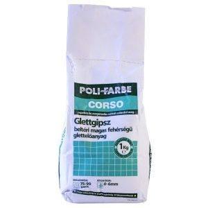 Poli- Farbe Corso 0-6mm beltéri glettgipsz (1 kg)