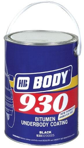 Body bitumen alapú fekete alvázvédő (2.5 l)