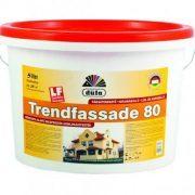 Düfa homlokzati fehér falfesték kültéri TD80 műgyanta alapú (5 l)