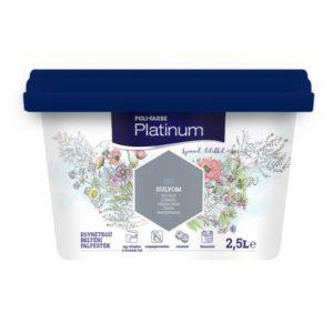 Poli-farbe Platinum belső falfesték (2.5 l)