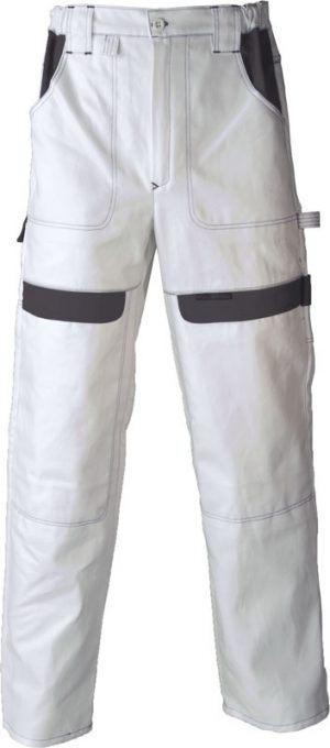 COOL TREND derekas nadrág, gumírozott derék, 100%pamut, 260g, fehér