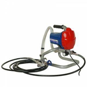Airless festékszórógép 650W, 1l/perc, 7,5m tömlővel, 517-es dűznivel DEDRA