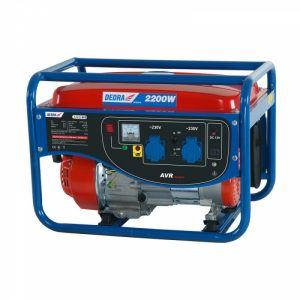 Dedra áramfejlesztő generátor 2,0kW, max.2,2kW, 2x220V, 1x12V, 8,3A,