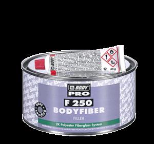 HB BODY F250 Bodyfiber 2K üvegszálas poliészter javítókitt 750g