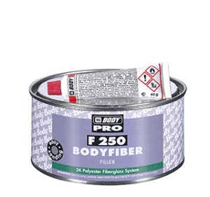 HB BODY F250 Bodyfiber 2K üvegszálas poliészter javítókitt 0,25kg